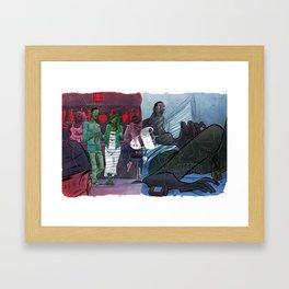 Story & Her Framed Art Print