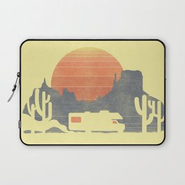 Trail of the dusty road Laptop Sleeve