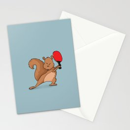 Talented Squirrel Stationery Cards