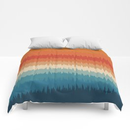 Colorful Static Comforters