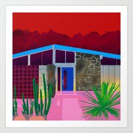 Pink Flood Art Print