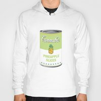 cannabis Hoodies featuring Cannabis - Pineapple Slices by Project Planet
