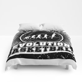 Basketball Evolution Comforters