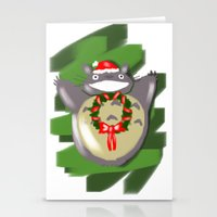 cartoons Stationery Cards featuring Christmas Cartoons by Erica_art