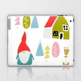 Christmas gnome Laptop & iPad Skin