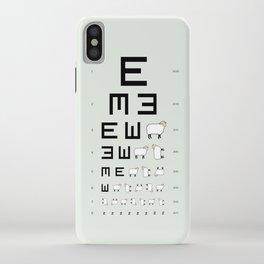 The EWE Chart iPhone Case