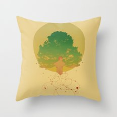 Otium Throw Pillow