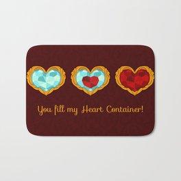 HEART CONTAINER Bath Mat