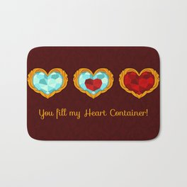 HEART CONTAINER Bath Mat