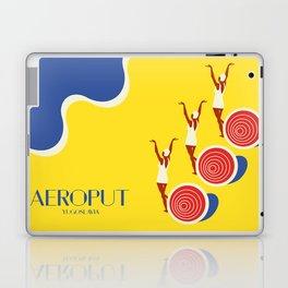 "EX-JU poster ""AEROPUT"" Laptop & iPad Skin"