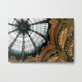 Galeries Lafayette Metal Print