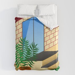 Backyard Duvet Cover