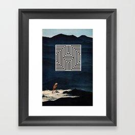 Decieved Framed Art Print