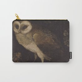 An Owl By Moses Haughton 1780 - Reproduction from original under CC0 Carry-All Pouch