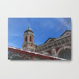 Ellis Island Architecture Metal Print