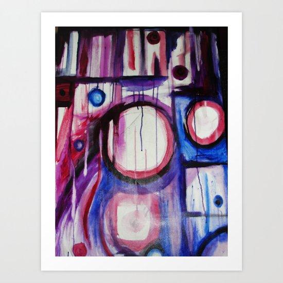 Aimlessly  Art Print