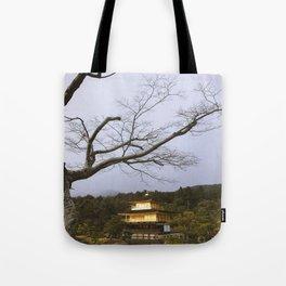 Golden Pavillion in Kyoto, Japan Tote Bag