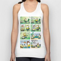 minion Tank Tops featuring Minion by Duitk