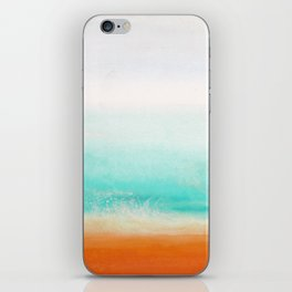 Waves and memories 02 iPhone Skin