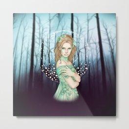 Winter Fairy Metal Print