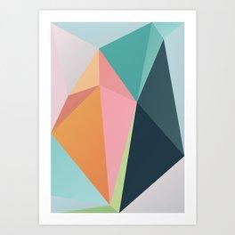 Geometric XXX Art Print