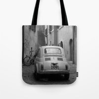 italy Tote Bags featuring Italy by Angelika Stern