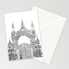 Southeast Asia Sketches: Vat Mixay; Laos Stationery Cards