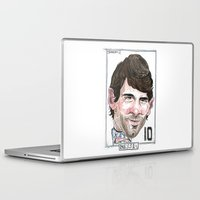 messi Laptop & iPad Skins featuring MESSI by BANDY