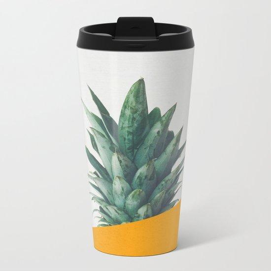 Pineapple Dip IV Metal Travel Mug
