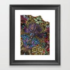 Psychedelic Botanical 8 Framed Art Print