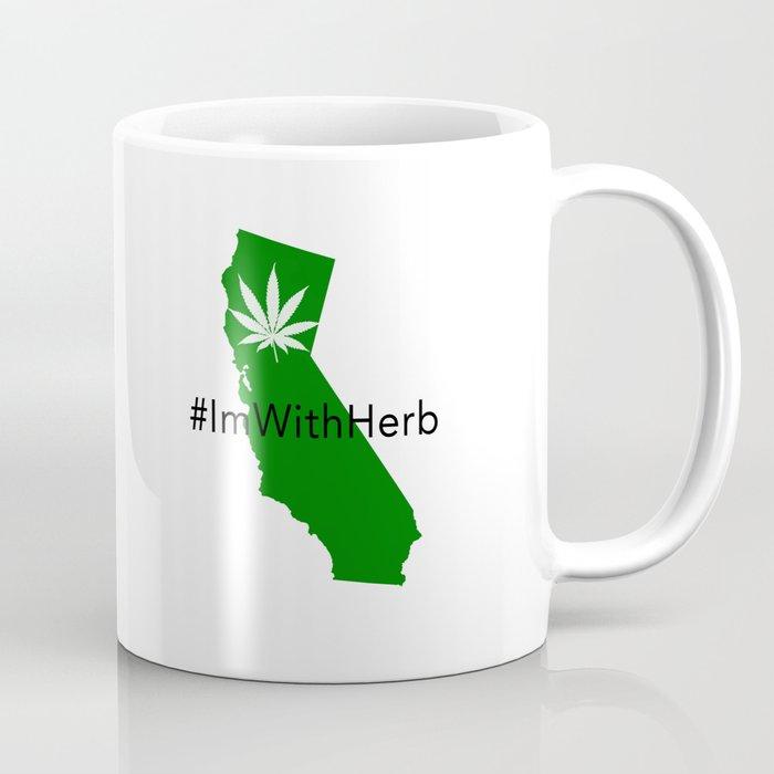 """#ImWithHerb """"Hash"""" Tag Mug Coffee Mug"""