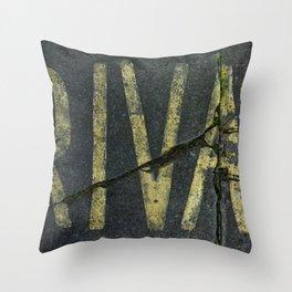 PRIVATO Throw Pillow
