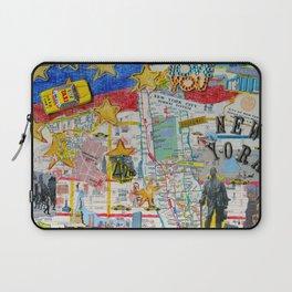 New York City Collage Laptop Sleeve
