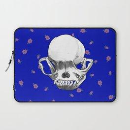 Pug Skull Laptop Sleeve
