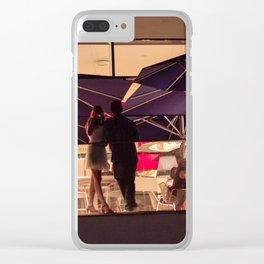Darwin Cafe Lisbon Clear iPhone Case