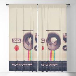 a portrait of a vintage camera Blackout Curtain