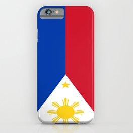 Flag of Philippines -Pilipinas,Filipinas,filipino,pinoy,pinay,Manila,Quezon iPhone Case