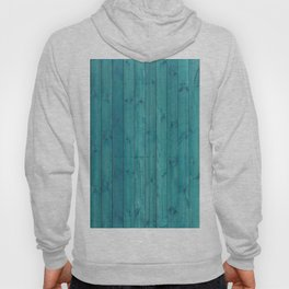 Turquoise Wood Hoody