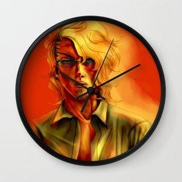 Eric Slingby Sunset Wall Clock