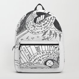 The Word  of God Abstract Backpack