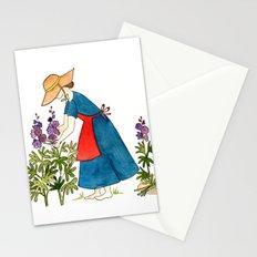 Gardening Lady Stationery Cards