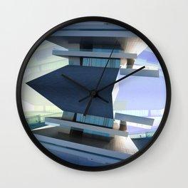 Copa de América Center, Valencia. Deconstruction Wall Clock