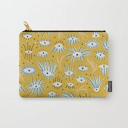 Eye Garden in Mustard Carry-All Pouch
