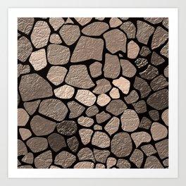 Stone texture 2 Art Print