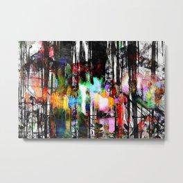 abstratown Metal Print
