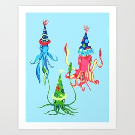 Party Squad Art Print