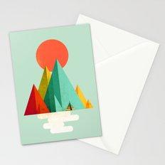 Little Geometric Tipi Stationery Cards