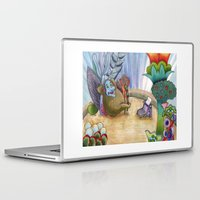 boob Laptop & iPad Skins featuring Nowhere Man by Freya Lovell