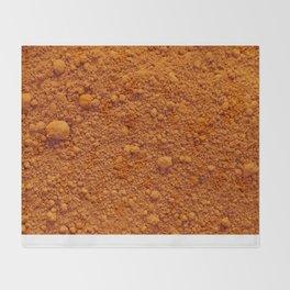 Naranja Absoluto Throw Blanket