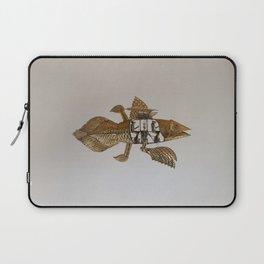 Coelacanth (brass) Laptop Sleeve